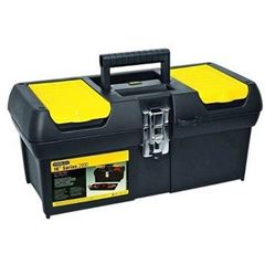 Caixa Ferramenta Plastico 20x41cm Preta/Amarela - Ref.16.013 - BLACK & DECKER