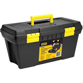 Caixa para Ferramenta Plástica 26X49,2cm Preta e Amarela - Ref.19-301 - STANLEY