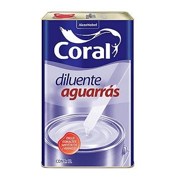 Coral Aguarrás Incolor 5Lt - Ref. 5203220 - CORAL