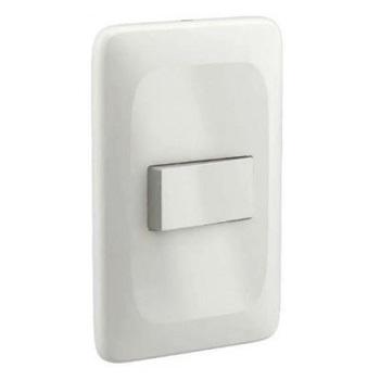 Interruptor 4x2 1 Tecla Simples 10A Zuli Branco - Ref.LZX010 - LORENZETTI