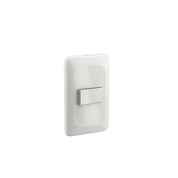 Interruptor 4x2 1 Tecla Paralelo 10A Zuli Branco - Ref.LZX020 - LORENZETTI