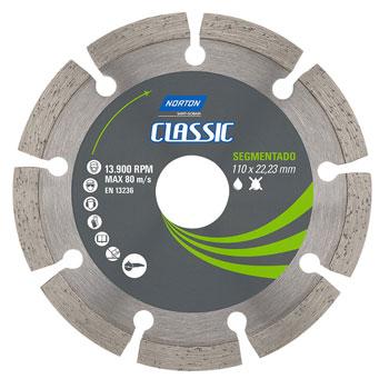 Disco Diamantado 110mm Segmentado Classic - Ref.70184693465 - NORTON