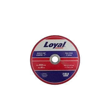 Disco Corte 7 Inox - Ref. 04106012 - LOYAL