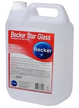 Limpa Vidros 5 Litros Concentrado Multiuso Star Glass - Ref.PA0001470 - BECKER