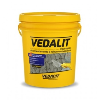 Aditivo Plastificante Argamassa/Chapisco 18,5kg Vedalit - Ref.111783 - VEDALIT