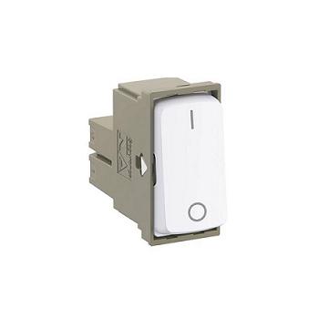 Interruptor 1m Simples Bipolar 25A Zeffia Branco -  Ref.680154 - PIAL