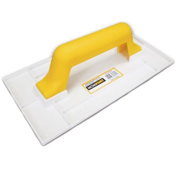 Desempenadeira PVC 17x30cm Grafiato - Ref. 406017 - MOMFORT