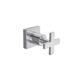 Acabamento para Registro de Gaveta em Metal 1/2 a 1 Polegada Gaveta Clean Cromado - Ref.4900.C.CLN.PQ - DECA