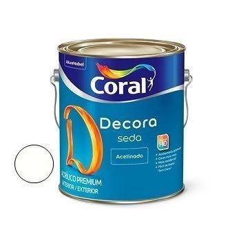 Tinta Acrílica 3,6 Litros Acabamento de Seda Acetinado Branco - Ref.5229659 - CORAL