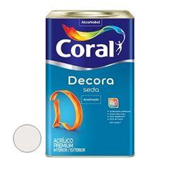 Tinta Acrílica Acabamento de Seda Acetinado Branco Gelo 18 Litros - Ref. 5229670 - CORAL
