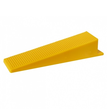 Cunha de Plástico 50 Peças para Nivelamento de Piso - Ref.60694 - CORTAG