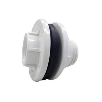 Adaptador de Caixa D Água com Anel Roscável PVC 1/2 Polegada - Ref. 0200 - KRONA