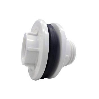 Adaptador de Caixa D Água com Anel Roscável PVC 1 Polegada - Ref. 0202 - KRONA