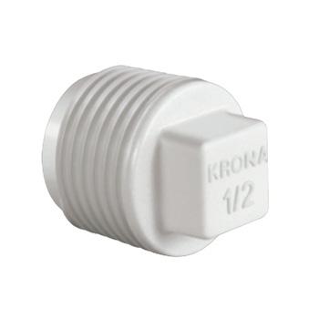 Plug Roscável PVC 11/4 - Ref. 0297 - KRONA