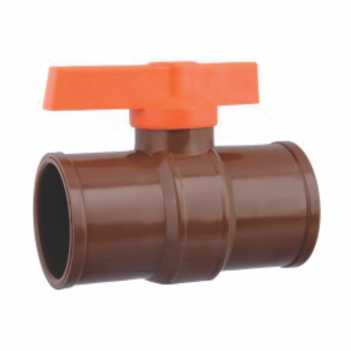 Registro Esfera PVC 20mm Soldável - Ref.01.001 - UNIFORTTE
