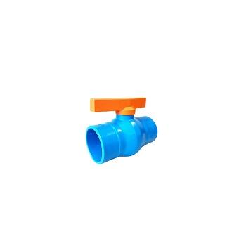 Registro Esfera Irrigação PVC 50,6mm Soldável - Ref.02.003 - UNIFORTTE