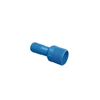Adaptador de Irrigação PVC Redução Interno 3/4x1/2 Azul Polegada - Ref.09.008 - UNIFORTTE