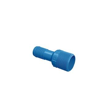 Adaptador de Irrigação PVC de Redução Interno 1x3/4 Azul Polegada - Ref.09.009 - UNIFORTTE