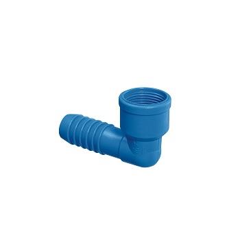 Joelho Irrigação PVC 1/2 Interno Azul - Ref.09.013 - UNIFORTTE