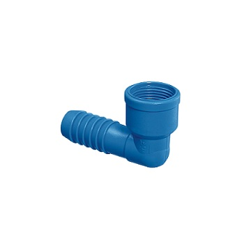 Joelho Irrigação PVC 3/4 Interno Azul - Ref.09.014 - UNIFORTTE