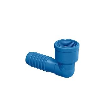 Joelho Irrigação PVC 1 Interno Azul - Ref.09.015 - UNIFORTTE