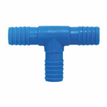 Tê Irrigação PVC 3/4 Interno Triplo Azul - Ref.09.029 - UNIFORTTE