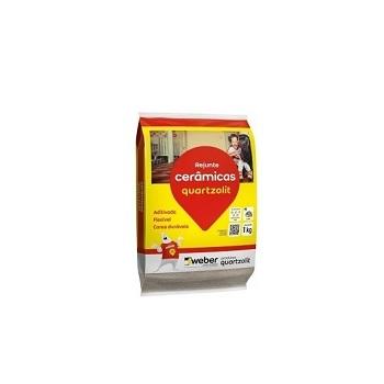 Rejunte Flexível Saco Com 1kg Marrom Tabaco - Ref.0107.00048.0015FD - QUARTZOLIT