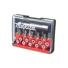 Kit Bits em Aço 12 Peças fixador magnético D-31083-12 MAKITA