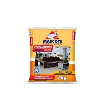 Rejunte Flexível Tipo II Saco Com 5kg Bege - Ref.654 - MASCOTE
