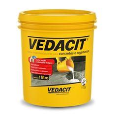 Impermeabilizante 1,0 Litros Concreto Argamassa 1,05kg - Ref.121846 - VEDACIT