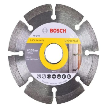 DISCO DIAMANT 105MM STD SEGM BOSCH