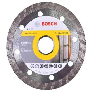 Disco Diamantado 105mm Standard Turbo - Ref. 2608603675000 - BOSCH