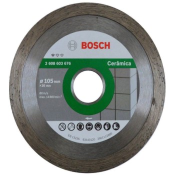 Disco Diamantado 105mm Standard Cerâmica Liso - Ref. 2608603676000 - BOSCH