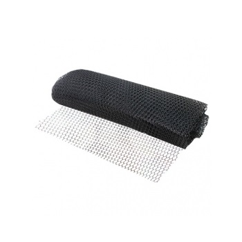 Tela Plástica 1,00x50m Pinteiro Preta - Ref. TPP100 - NETTEN TEC