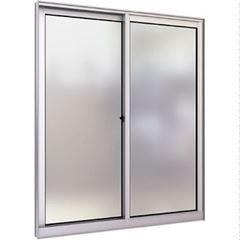 Janela de Alumínio 2 Folhas 1 Fixa Vidro Canelado 150x100cm Minha Casa MCJCNTC004 - Ref.EMC003006 - QUALITY