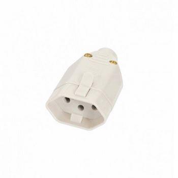 Plug Femea Saida Cabo 2P+T 20A Cinza - Ref. 08317280 -  FAME