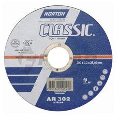 Disco de Corte 10 Polegadas 254x3,2x15,87 AR302 Classic - Ref.66253370155 - NORTON