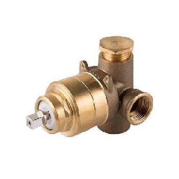 Misturador para Chuveiro Alta Vazao Bronze 3/4 Polegada Base - Ref. 658200 - DOCOL