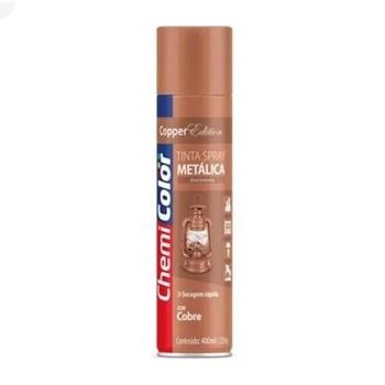 Tinta Spray Metálica Cobre 400ml - Ref. 680106 - CHEMICOLOR