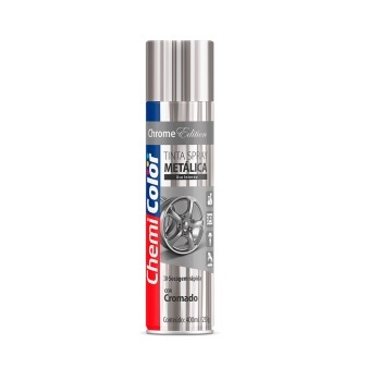 Tinta Spray 400ml Metálica Cromado - Ref.680099 - CHEMICOLOR