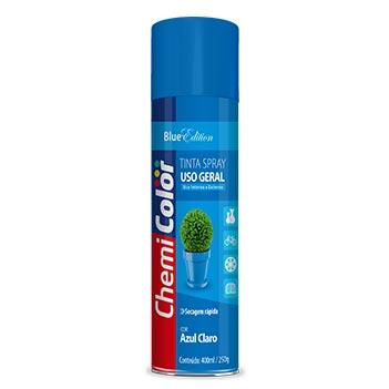 Tinta Spray Uso Geral 400ml Azul Claro - Ref. 680090 - CHEMICOLOR