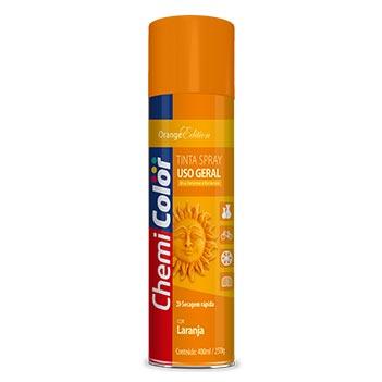 Tinta Spray Uso Geral 400ml  Laranja - Ref. 680132 - CHEMICOLOR