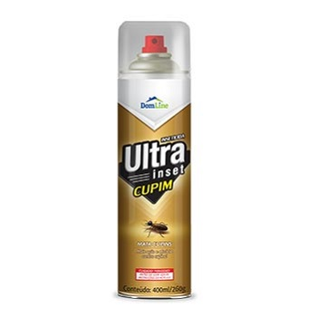 Inseticida Spray Ultra Inset Cupim 400ml - Ref. 210112 - DOMLINE
