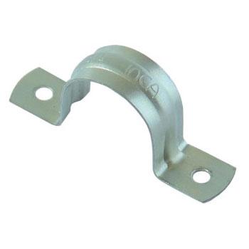 Abraçadeira de Aço Tipo U Para Eletroduto 1/2 Polegada Zincado - Ref.10.040.0013 - INCA