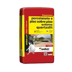 Argamassa Externa para Porcelanato e Piso Sobre Piso Cinza - Ref.0100.00001.0020PA - QUARTZOLIT