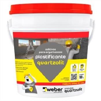 Aditivo Plastificante 18Litros - Ref.30072.02.30.008 - QUARTZOLIT