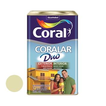 Tinta Acrílica Fosca Coralar Duo Caldo de Cana 18 Litros - Ref. 5244772 - CORAL