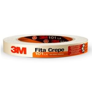 Fita Crepe 101LA 18mmx50m Uso Geral - Ref. HB004415608 - 3M