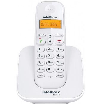 Telefone sem Fio TS3110 Branco - Ref. 4123010 - INTELBRAS