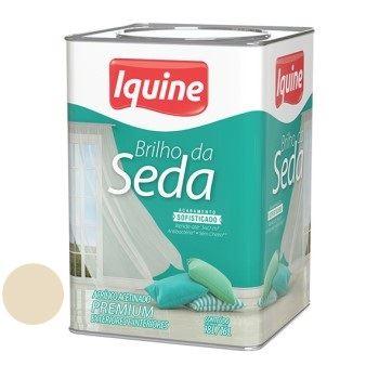 Tinta Acrílica Acetinada 18 Litros Brilho da Seda Palha - Ref. 262301405 - IQUINE